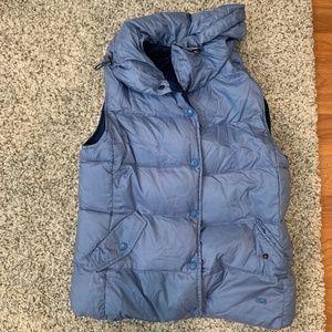 Weekend MaxMara Blue Puffer Vest